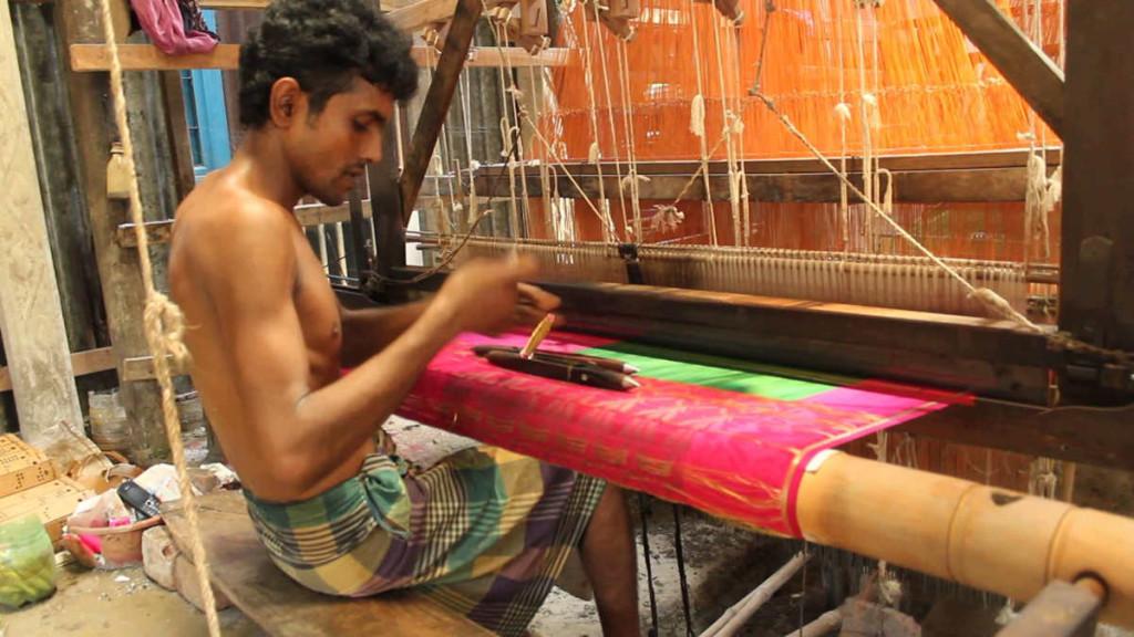 Tangail Saree Making